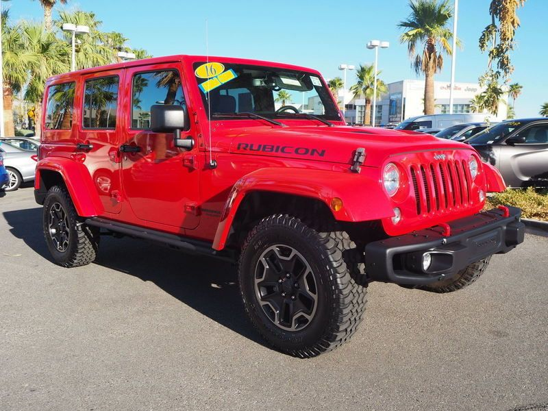 2016 Jeep Wrangler Unlimited UNLIMITED RUBICON - 17999387 - 2