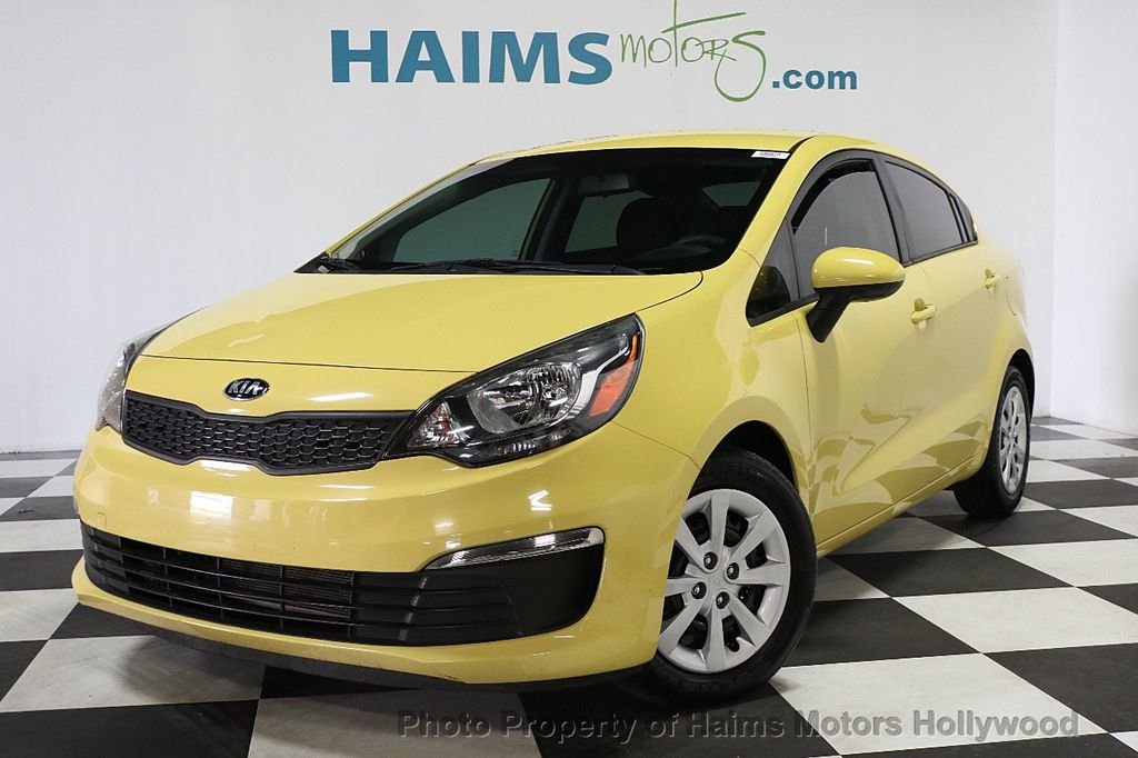 2016 Kia Rio 4dr Sedan Automatic Lx 17810270 1