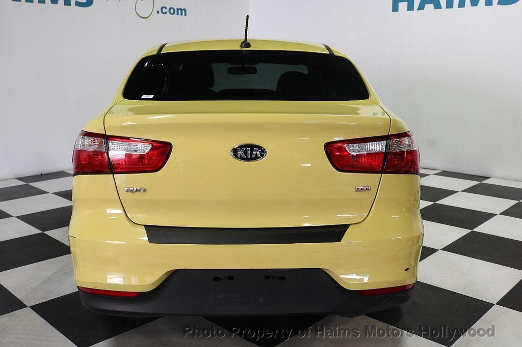 2016 Kia Rio 4dr Sedan Automatic LX - 17810270 - 5
