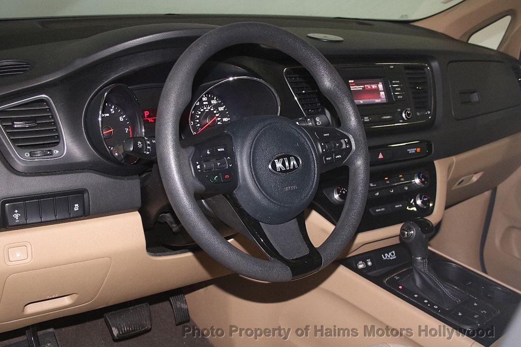 2016 Kia Sedona 4dr Wagon LX - 17422237 - 21