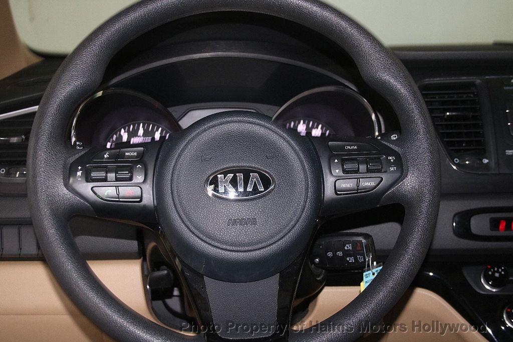 2016 Kia Sedona 4dr Wagon LX - 17422237 - 29
