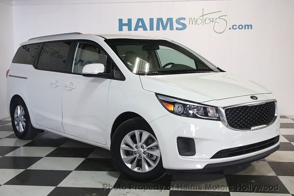 2016 Used Kia Sedona 4dr Wagon Lx At Haims Motors Serving