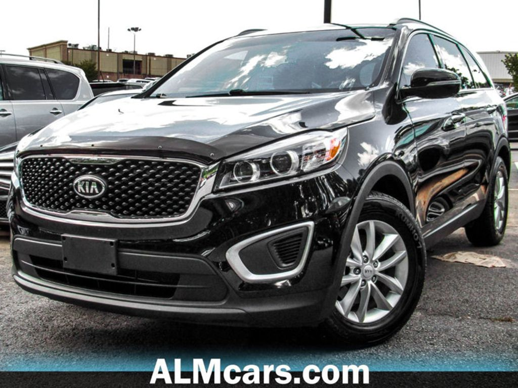 2016 Used Kia Sorento Fwd 4dr 24l Lx At Alm Gwinnett Serving Duluth Front Trailer Hitch 18008894 1