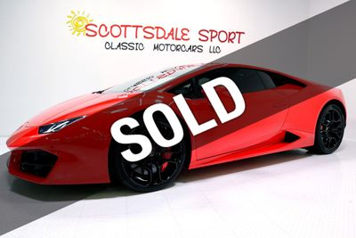2016 Lamborghini HURACAN LP580-2 * ONLY 3,240 Miles...Giant Options!