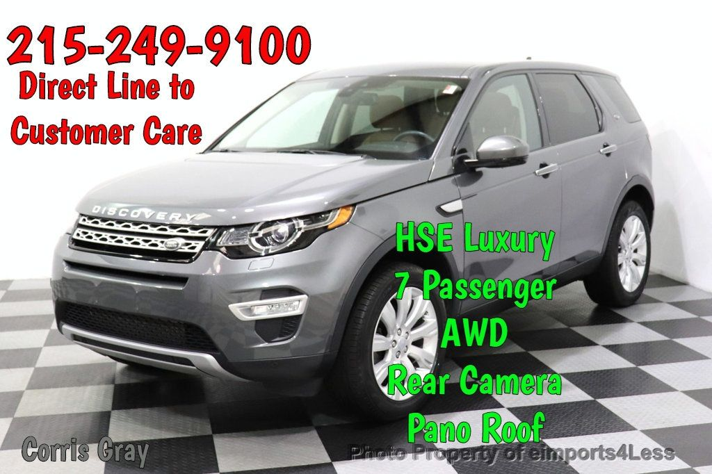 2016 Land Rover Discovery Sport CERTIFIED DISCOVERY SPORT HSE LUXURY 7 passenger AWD - 18587084 - 0