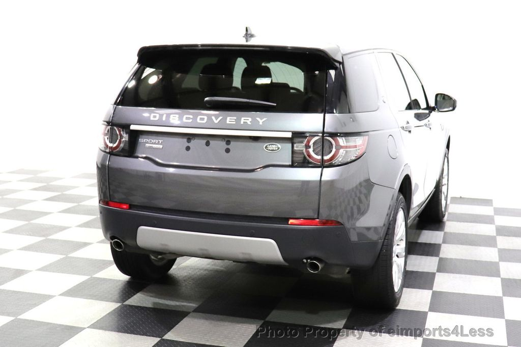2016 Land Rover Discovery Sport CERTIFIED DISCOVERY SPORT HSE LUXURY 7 passenger AWD - 18587084 - 48