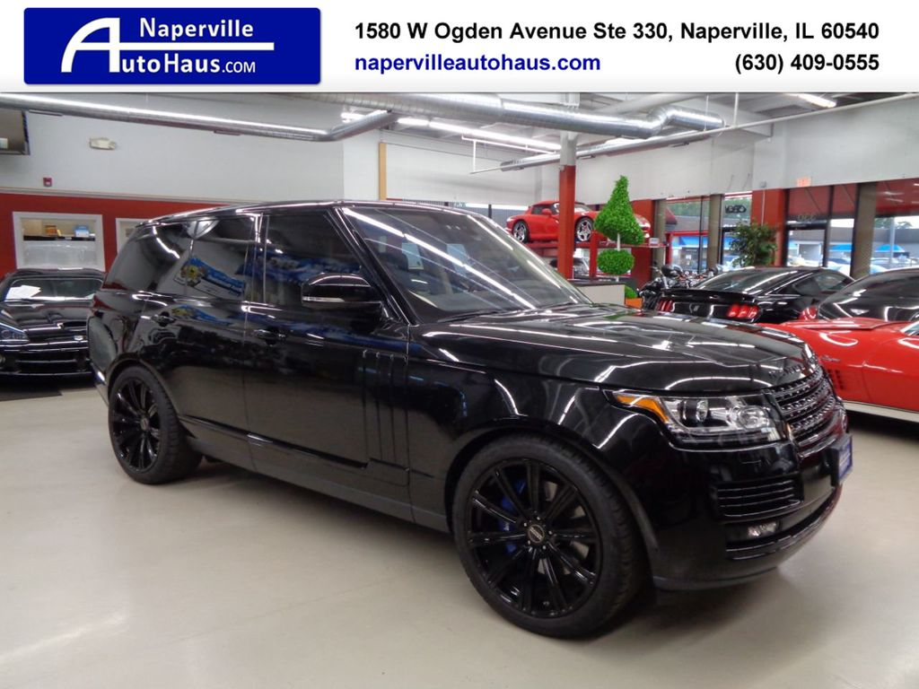 2016 Land Rover Range Rover 4WD 4dr Autobiography - 17996369 - 0