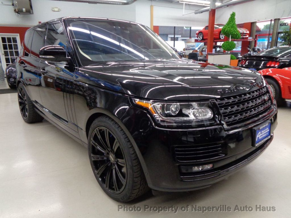 2016 Land Rover Range Rover 4WD 4dr Autobiography - 17996369 - 1