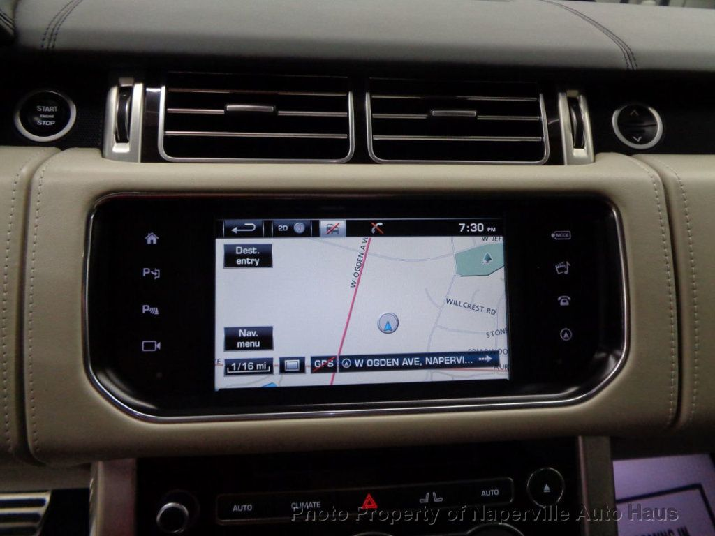 2016 Land Rover Range Rover 4WD 4dr Autobiography - 17996369 - 27