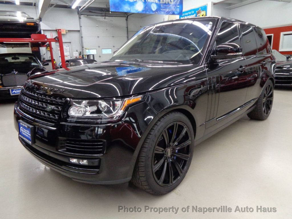 2016 Land Rover Range Rover 4WD 4dr Autobiography - 17996369 - 2