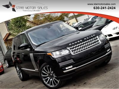2016 Land Rover Range Rover 4WD 4dr Autobiography SUV