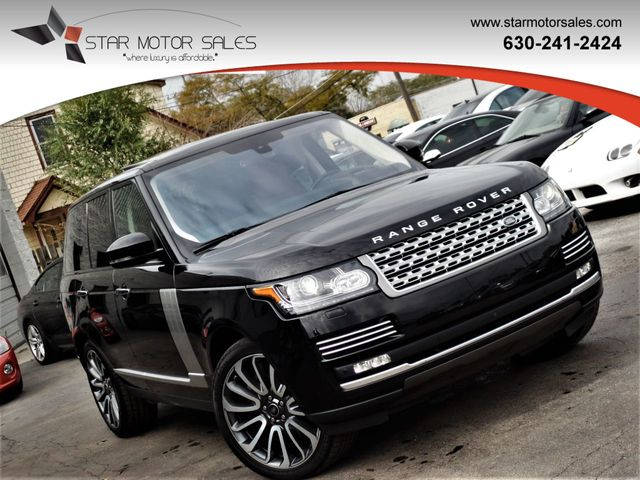 Range Rover Autobiography 2016 >> 2016 Land Rover Range Rover 4wd 4dr Autobiography Suv For Sale Downers Grove Il 66 985 Motorcar Com