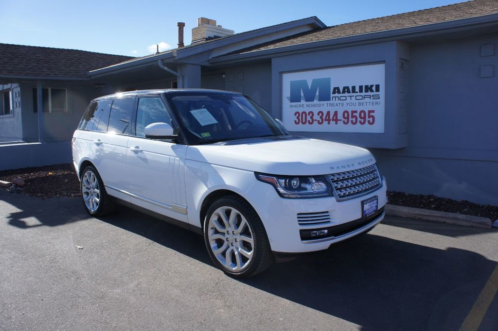 2016 Land Rover Range Rover 4WD 4dr HSE - 18482252 - 0