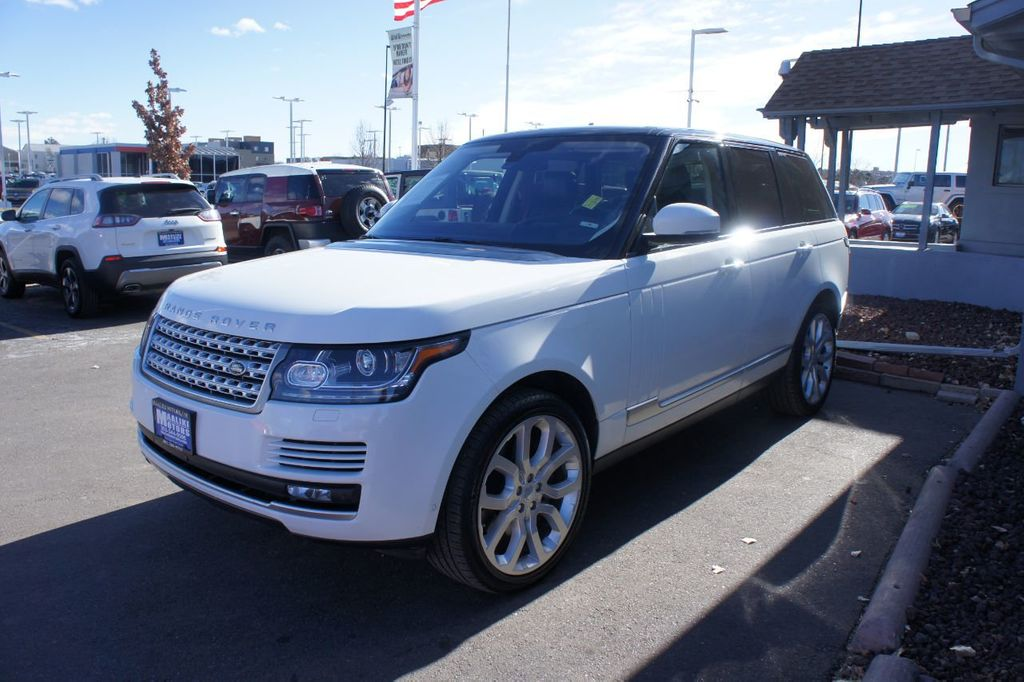 2016 Land Rover Range Rover 4WD 4dr HSE - 18482252 - 1
