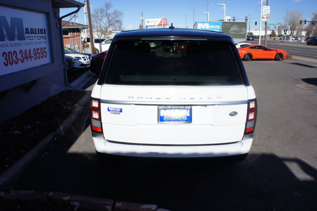 2016 Land Rover Range Rover 4WD 4dr HSE - 18482252 - 28