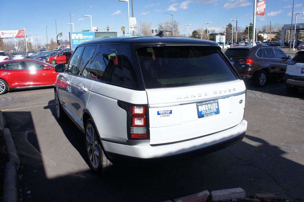 2016 Land Rover Range Rover 4WD 4dr HSE - 18482252 - 5