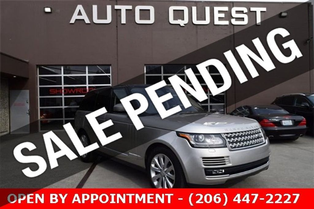 2016 Land Rover Range Rover 4WD 4dr HSE - 18611237 - 0
