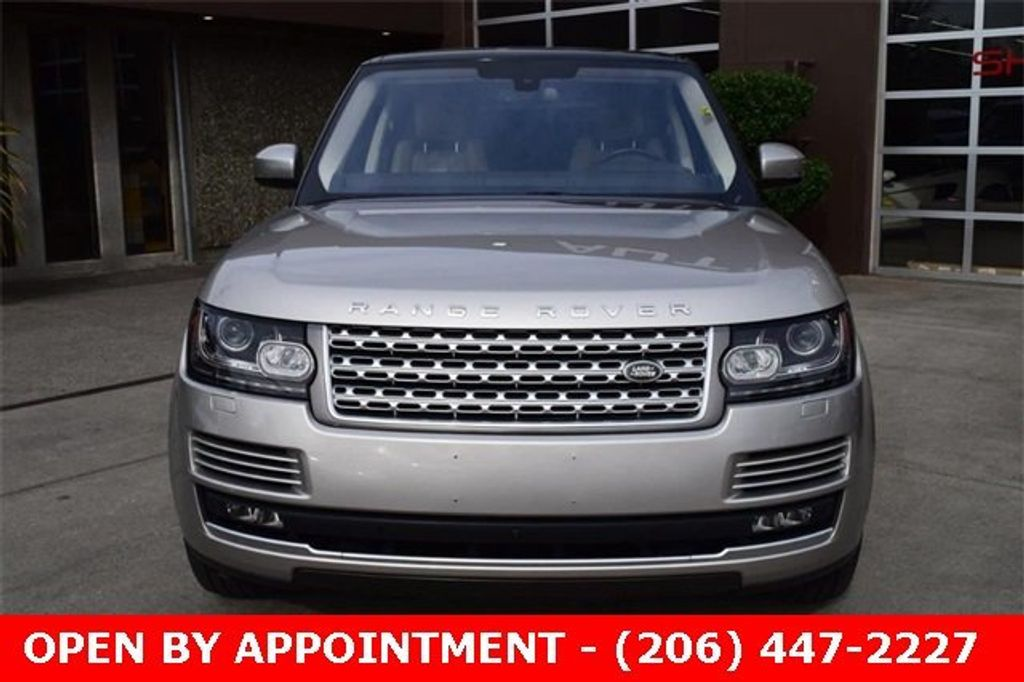 2016 Land Rover Range Rover 4WD 4dr HSE - 18611237 - 1