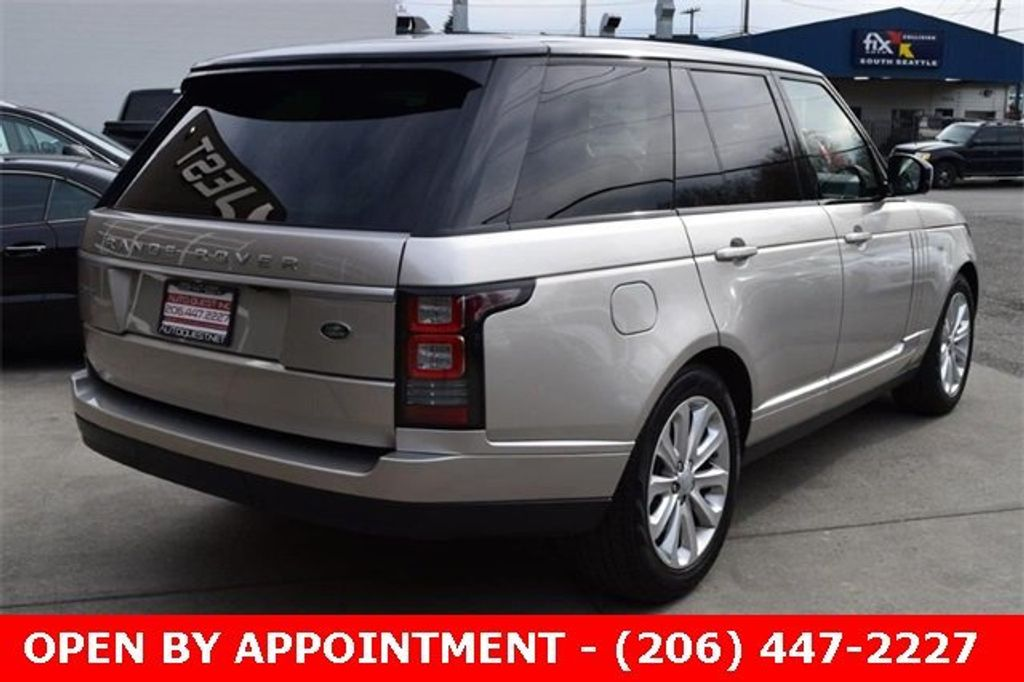 2016 Land Rover Range Rover 4WD 4dr HSE - 18611237 - 4