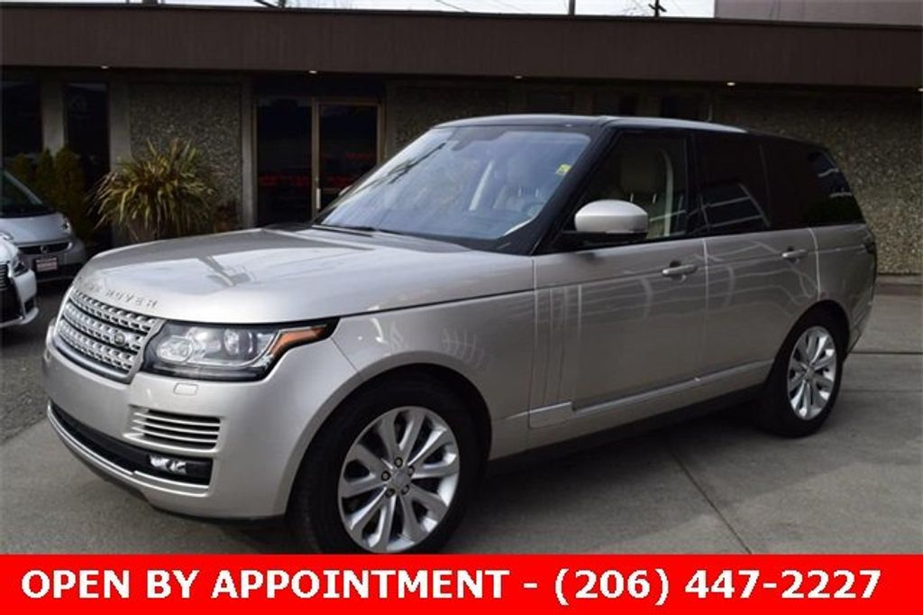 2016 Land Rover Range Rover 4WD 4dr HSE - 18611237 - 8