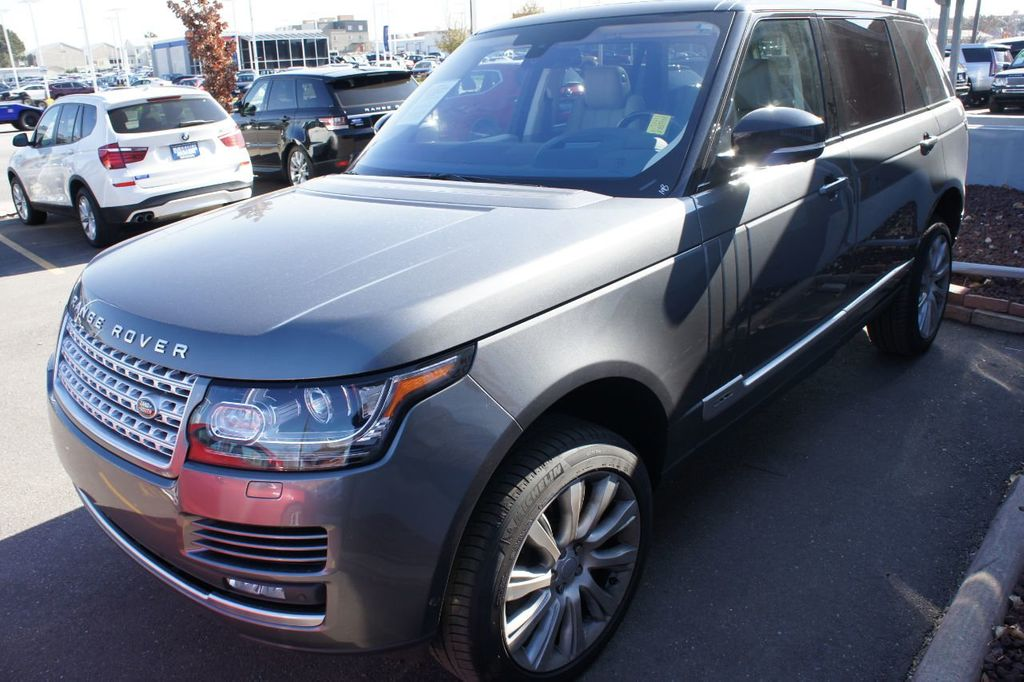 2016 Land Rover Range Rover 4WD 4dr Supercharged - 18295815 - 1