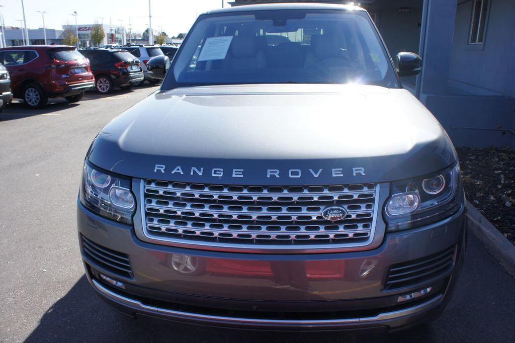 2016 Land Rover Range Rover 4WD 4dr Supercharged - 18295815 - 24