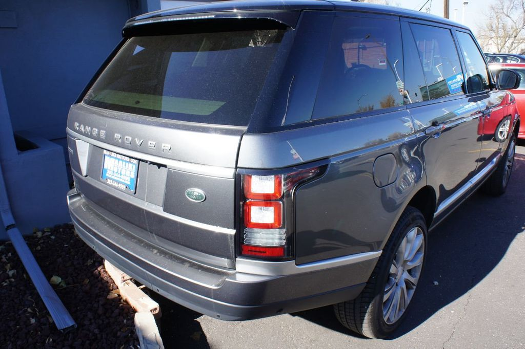 2016 Land Rover Range Rover 4WD 4dr Supercharged - 18295815 - 3
