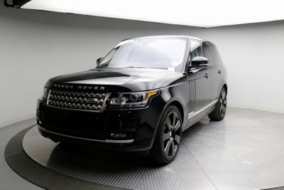 2016 Land Rover Range Rover 4WD 4dr Supercharged SUV