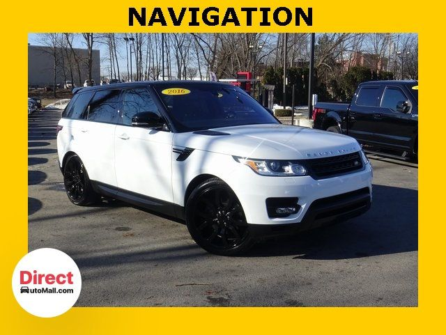 2016 Land Rover Range Rover Sport >> 2016 Used Land Rover Range Rover Sport 3 0l V6 Supercharged Hse At Direct Automall Com Serving Framingham Ma Iid 19588291