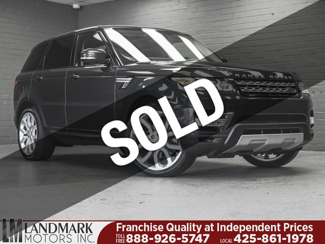 Used Range Rover >> Used Land Rover Range Rover Sport At Landmark Motors Inc Serving Seattle Bellevue Wa