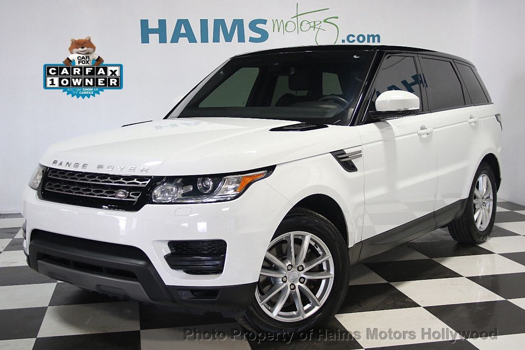 2016 used land rover range rover sport 4wd 4dr v6 se at haims motors serving fort lauderdale. Black Bedroom Furniture Sets. Home Design Ideas