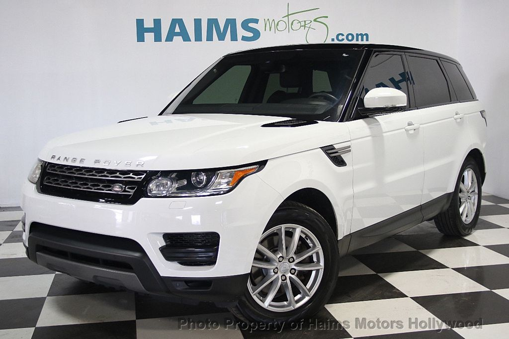 2016 Used Land Rover Range Rover Sport 4wd 4dr V6 Se At Haims Motors