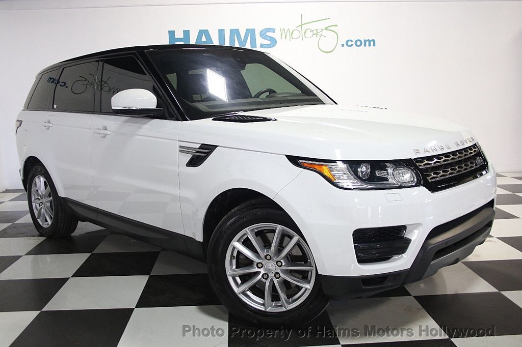 2016 Used Land Rover Range Rover Sport 4WD 4dr V6 SE at Haims Motors ...