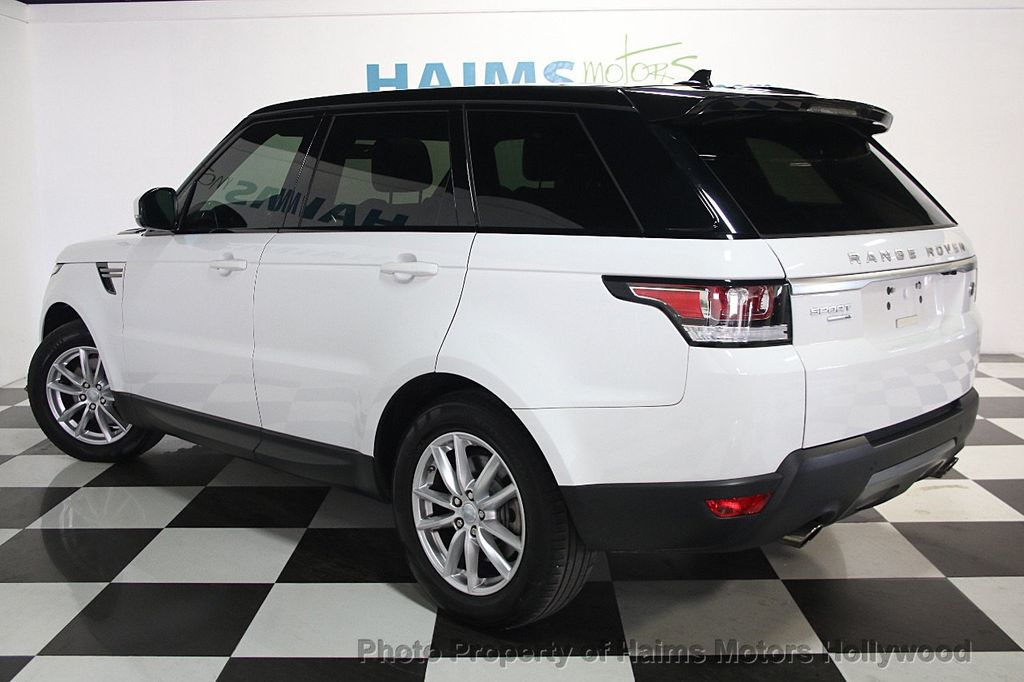 2016 Used Land Rover Range Rover Sport 4wd 4dr V6 Se At