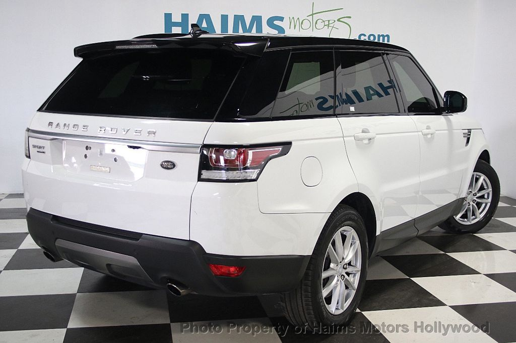 2016 used land rover range rover sport 4wd 4dr v6 se at haims motors hollywood serving fort. Black Bedroom Furniture Sets. Home Design Ideas