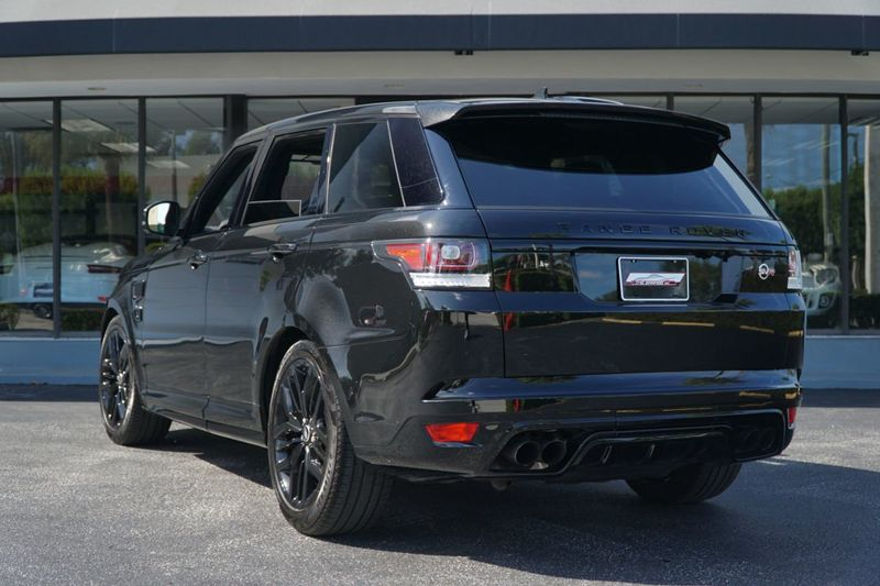 2016 Land Rover Range Rover Sport 4WD 4dr V8 SVR - Click to see full-size photo viewer