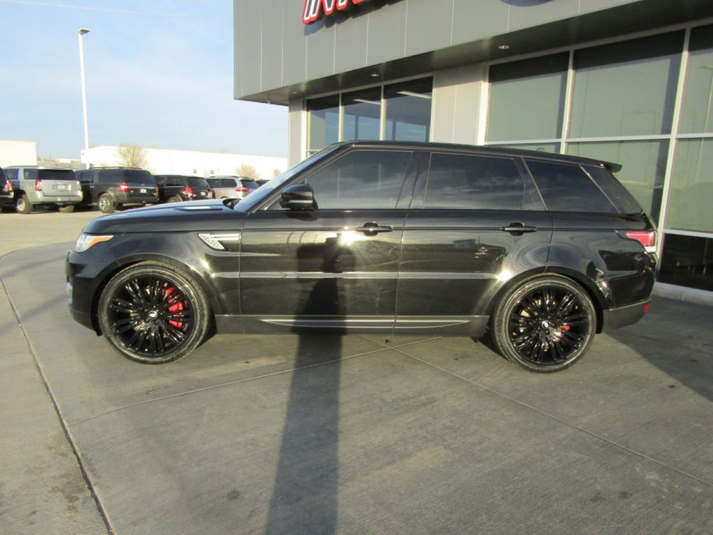 2016 Land Rover Range Rover Sport Supercharged - 18542661 - 3