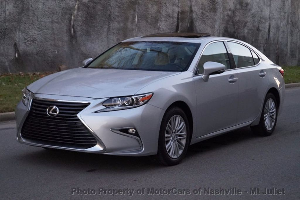 2016 used lexus es 350 4dr sedan at motorcars of nashville. Black Bedroom Furniture Sets. Home Design Ideas