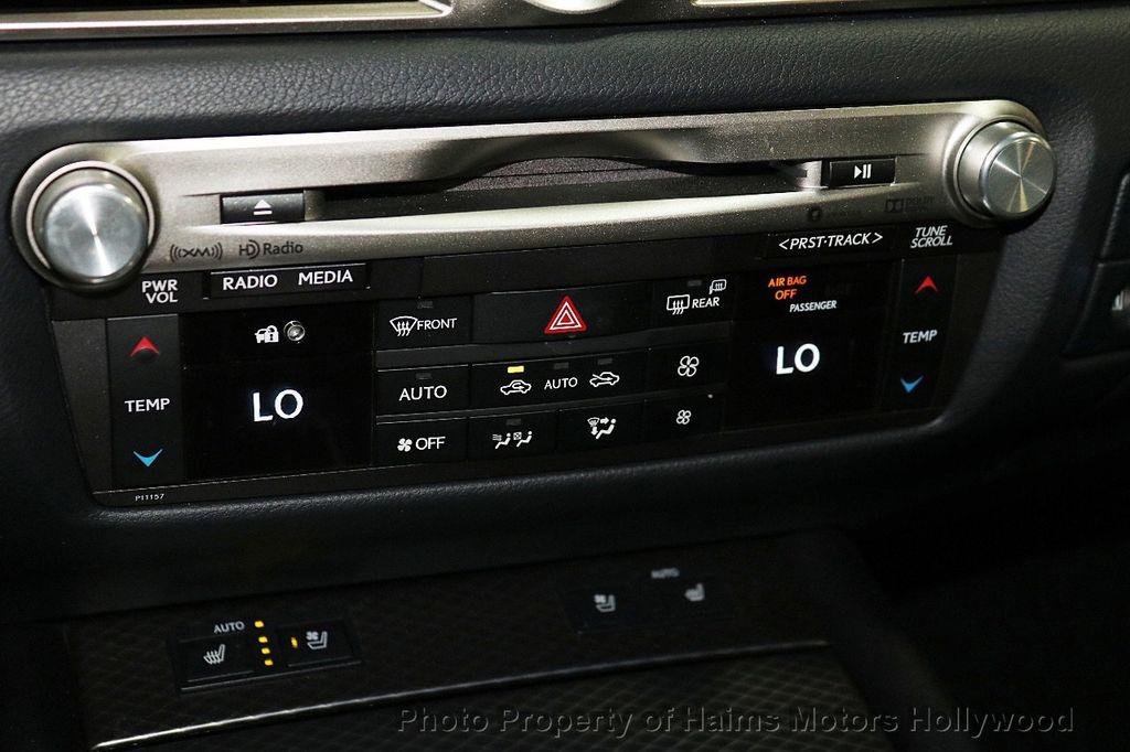 2016 Lexus GS 350 4dr Sedan RWD - 18143344 - 22
