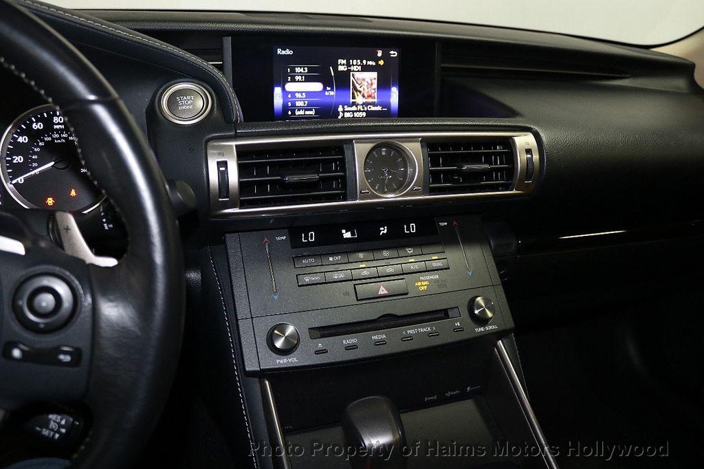 2016 Lexus IS 200t 4dr Sedan - 17858490 - 19