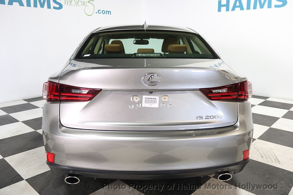 2016 Lexus IS 200t 4dr Sedan - 17858490 - 5
