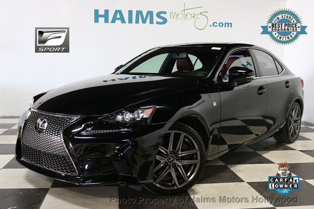 2016 Lexus IS 200t F SPORT - 18492357 - 0