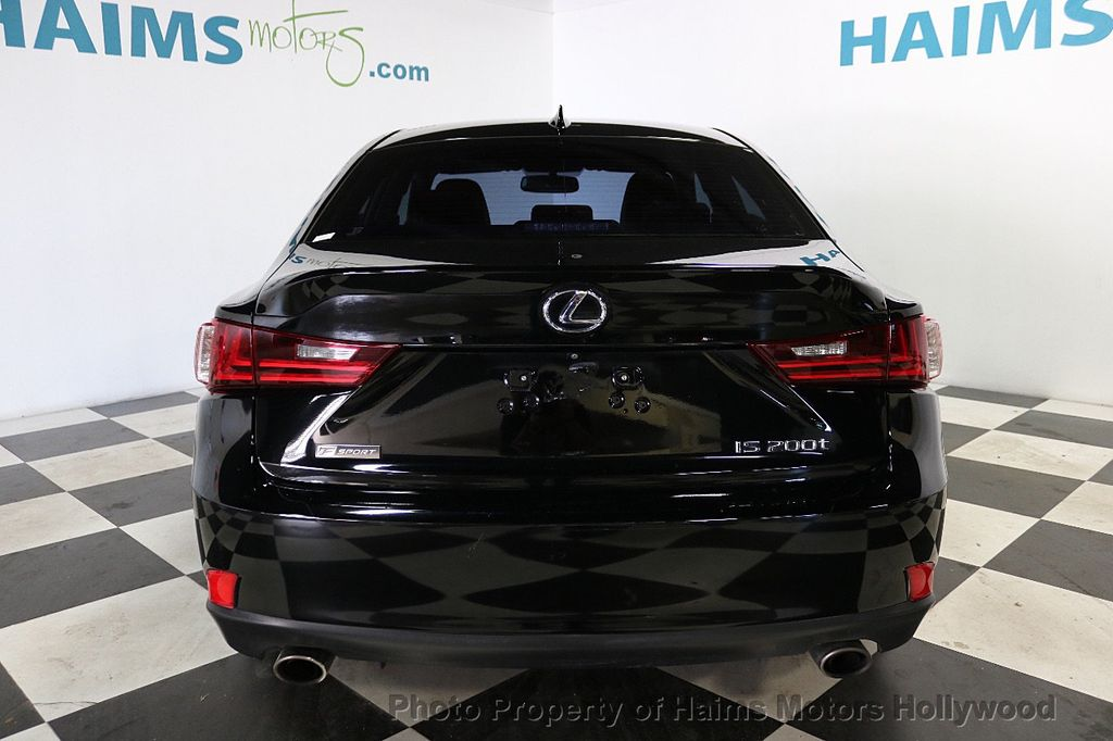 2016 Lexus IS 200t F SPORT - 18492357 - 5