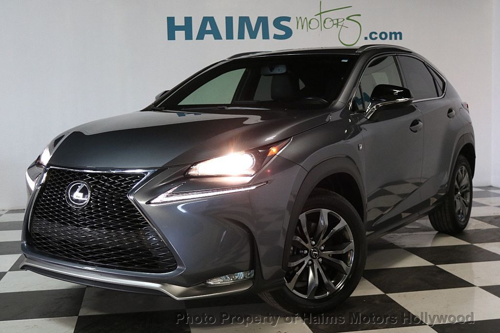 Lexus Nx 200T F Sport >> 2016 Used Lexus NX 200t FWD 4dr F Sport at Haims Motors Serving Fort Lauderdale, Hollywood ...