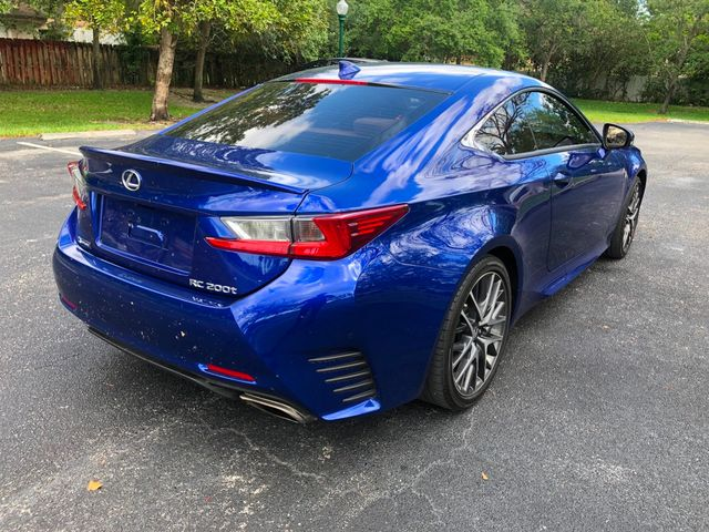 2016 Lexus RC 200t 2dr Coupe - Click to see full-size photo viewer