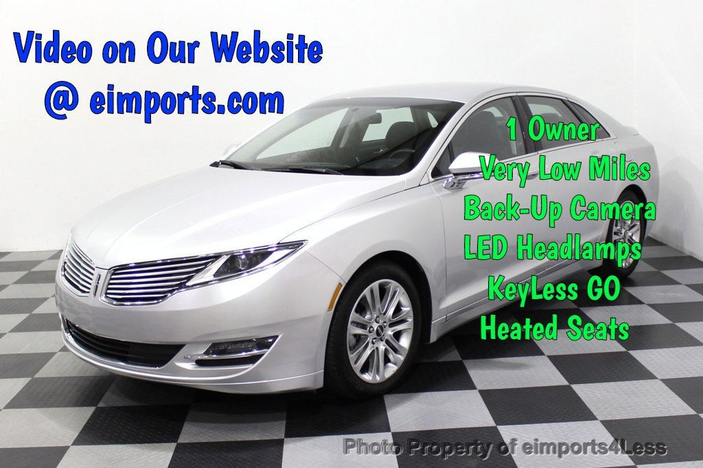 2016 Lincoln MKZ CERTIFIED MKZ PREMIERE LED LIGHTS CAMERA ECOBOOST - 18319508 - 0