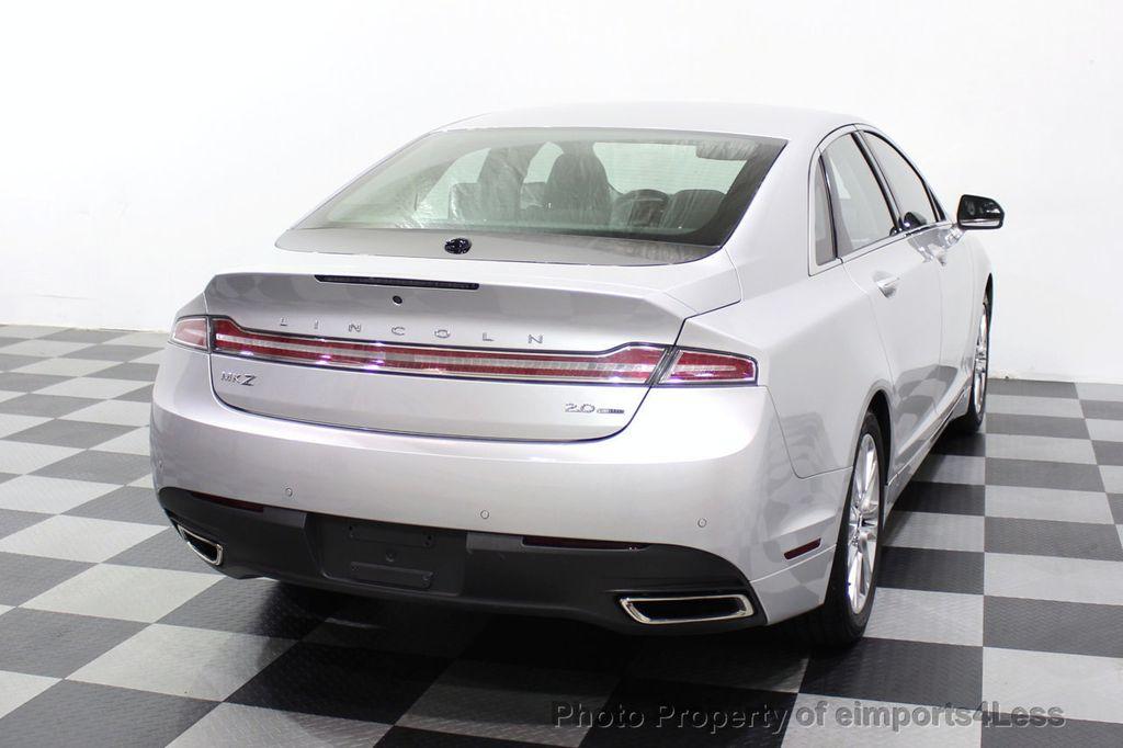 2016 Lincoln MKZ CERTIFIED MKZ PREMIERE LED LIGHTS CAMERA ECOBOOST - 18319508 - 31