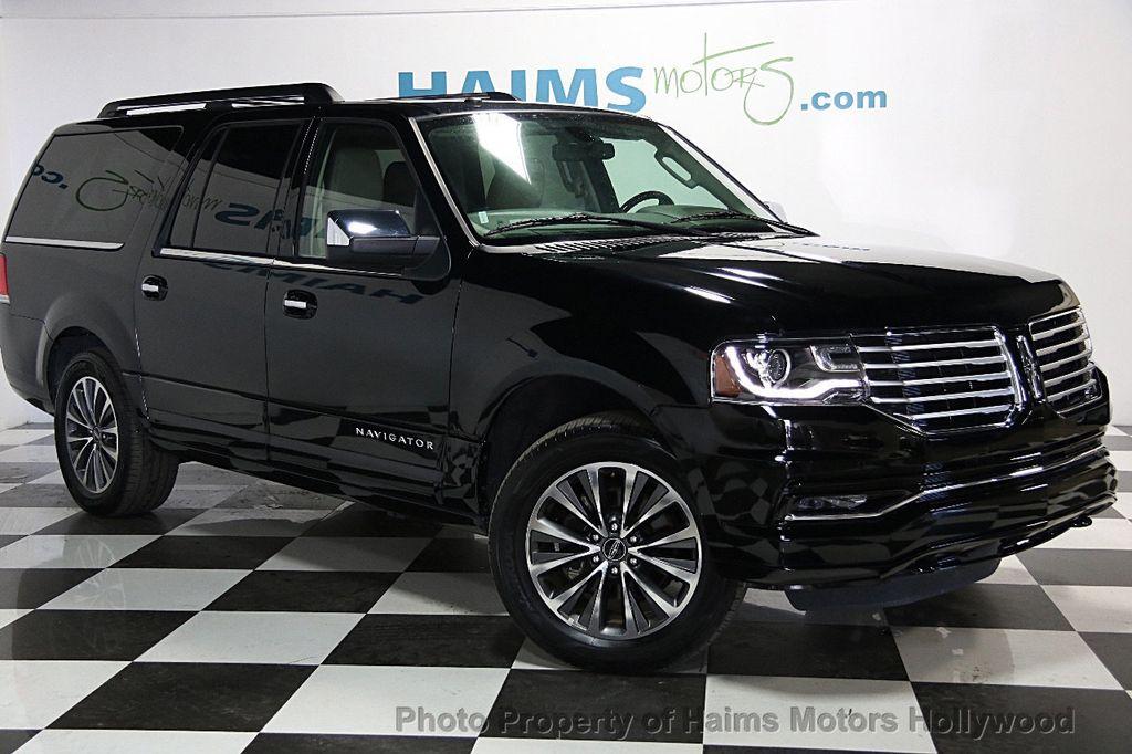 2016 Used Lincoln Navigator L 2wd 4dr Select At Haims Motors