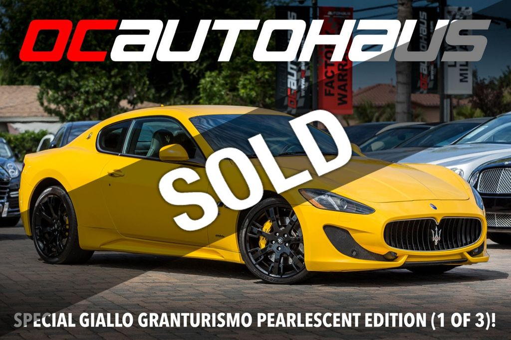 Used Maserati Granturismo >> 2016 Used Maserati Granturismo 2dr Coupe Sport At Oc Autohaus Serving Westminster Ca Iid 19273788