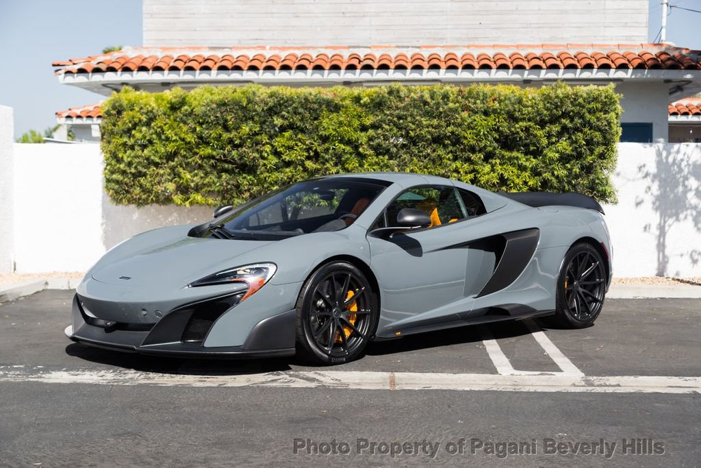 2016 Used McLaren 675LT 2dr Convertible Spider at Pagani Beverly ...